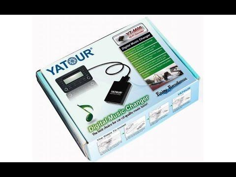 USB в магнитолу. Установка MP3-чейнджер YATOUR.