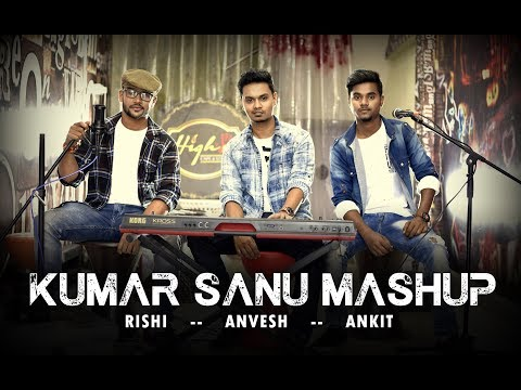 Kumar Sanu Mashup 1.0   Tera Mera Pyaar - Dheere Dheere Se    Rishi ft. Rapper Ankit   Anvesh   