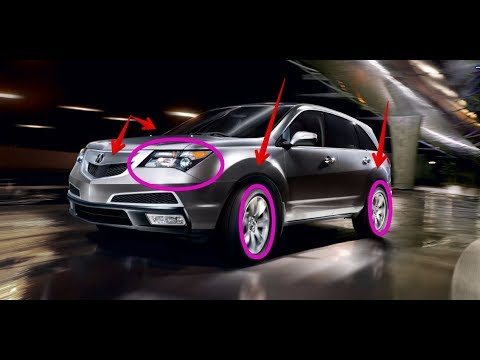 2018 Acura Mdx Exterior Colors Youtube