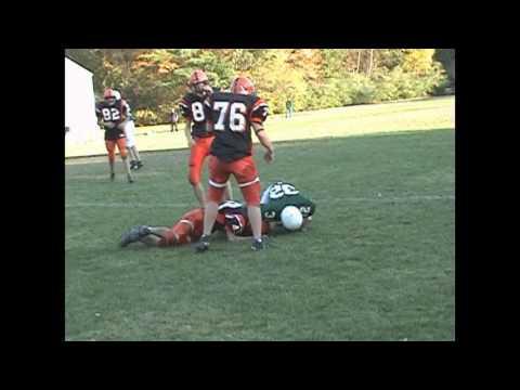 Uxbridge High School Football Highlight Film 2006