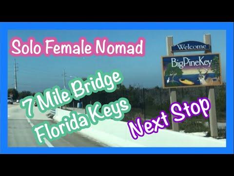 Solo Female Nomad/7 Mile Bridge Florida Keys