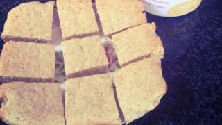 How To Make Banana Protein Bars | Uk Dietitian Nichola Whitehead