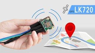 GPS трекер LK720 реле - Обзор и настройка GPS маячка из Китая