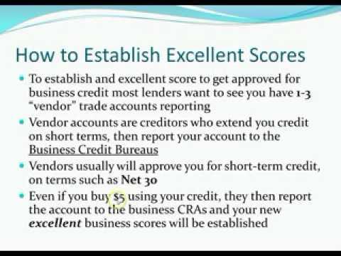 Business Credit Score Secrets