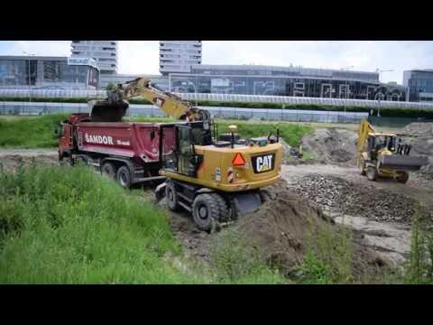 Caterpillar CAT 318F & VOLVO FMX 500 Euro6 & TATRA