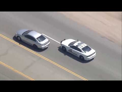 Car Chase Criminal Suspect On The Run!