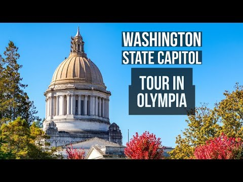 Washington State Capitol Building Tour In Olympia
