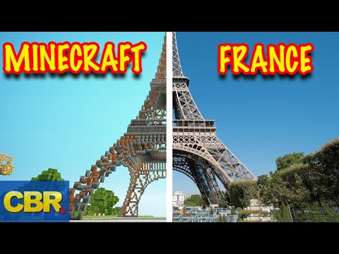 Minecraft Creations That Look More Legit Than The Real Life Thing