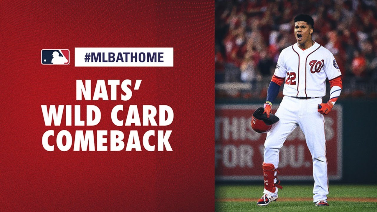 Download 2019 NL Wild Card Game, Brewers vs. Nationals (Nats' awesome comeback) | #MLBAtHome