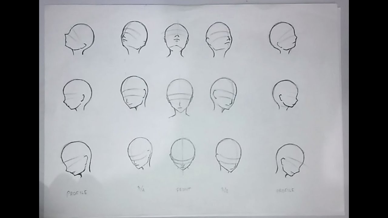 How To Tutorials How To Draw Animemanga Faces From Different