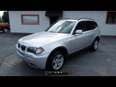 2006 BMW X3 3.0i Start Up, Exhaust, and In Depth Review