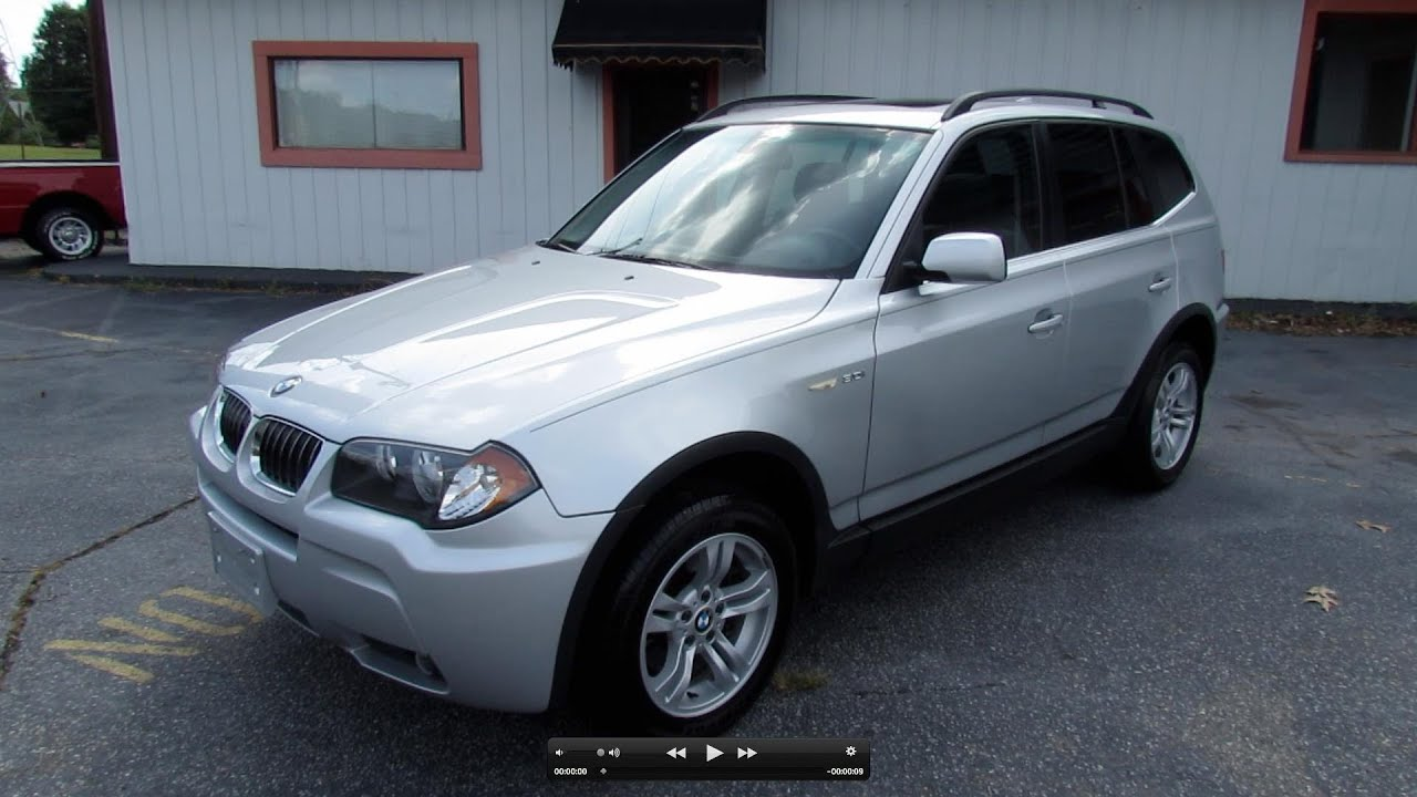 2006 bmw x3 start up exhaust and in depth review youtube. Black Bedroom Furniture Sets. Home Design Ideas