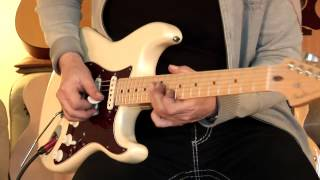 "2011 Fender Stratocaster ""American Deluxe"", Part1"