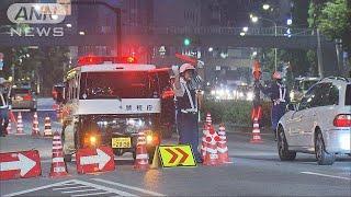覆面パトカー100台以上 飲酒運転の取り締まり強化(18/05/19)