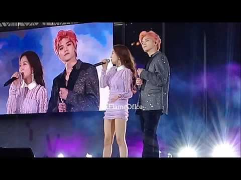 190119 BoA FT. NCT TAEYONG - No Matter What [Taeyong Fancam] | SMTown Live In Santiago