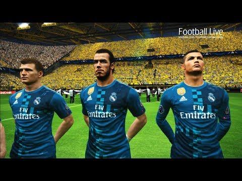 Borussia Dortmund vs Real Madrid   UEFA Champions League 2017/2018   PES 2017 Gameplay PC