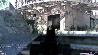 call of duty modern warfare 3 gameplay ITA deathmatch a squadre in dome ps3