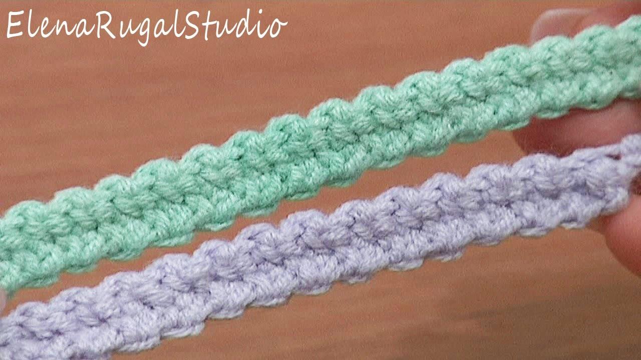 Crochet I Cord : Crochet Romanian Point Lace Wide Cord Tutorial 48 European Macrame ...