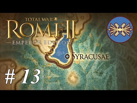 Lets play Total War: Rome II  Syracuse: Part 13 Lines Stretched Thin