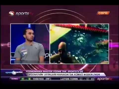 Yüzme Mania Sport Center'da - Sports Tv