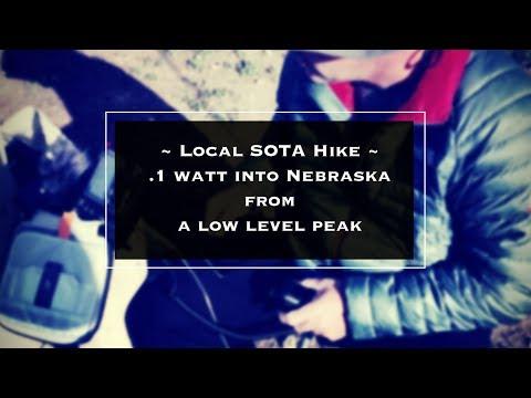 HIKING with HAM RADIO for SOTA on San Juan Hill with Josh KI6NAZ