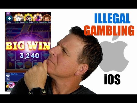 Sued For Running Illegal Gambling On IOS. Big Fish Game Developer.