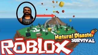 Roblox natural disasters! Likās ka nav iespējams!