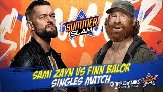 WWE SummerSlam 2021   Finn Balor vs Sami Zayn   Singles Match