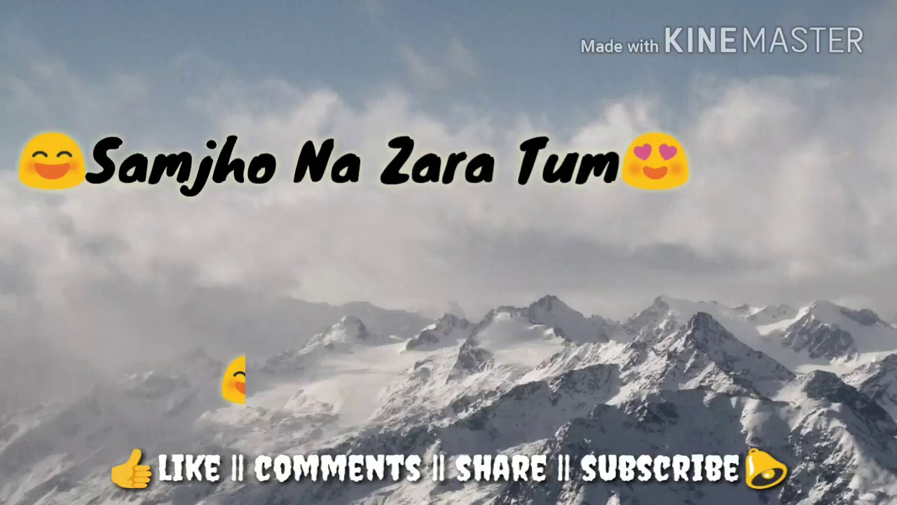 Deewano Ke Jaise Karte Ho Shararat Whatsapp Status Video 30 Sec Youtube