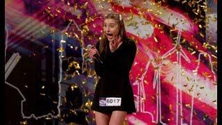 """Pierwszy """"złoty przycisk"""" w 12. edycji programu! Ana zachwyciła jurorów! [Mam Talent]"""