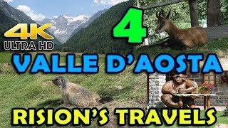 VALLE D'AOSTA PARTE 4 - Cogne, Parco Animali Introd | RISION'S TRAVELS  (4K ULTRA HD)