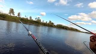 Рыбалка на реке Сосьва Гаринский район 13 сентября 2020г