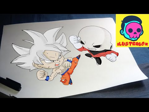 Como Dibujar Goku Vs Jiren How To Draw Goku Vs Jiren Youtube