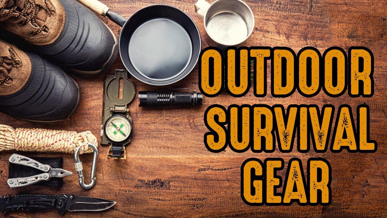 Top 7 Best Outdoor Survival Gear in 2020