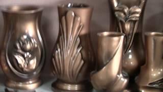 Изготовление ритуальных ваз и скульптуры из литьевого мрамора.Формы.Обучение технологии