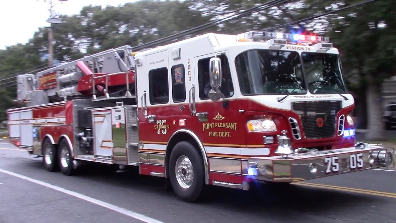 Point Pleasant Fire Department Tower Ladder 7505 ...