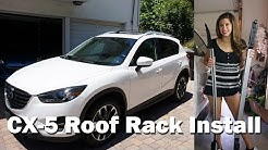 2013-2016 MAZDA CX-5 ROOF RACK INSTALL!