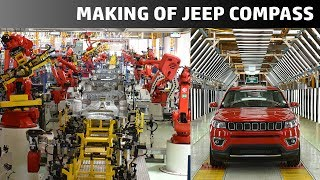 How it is made - #MadeInIndia Jeep Compass | QuikrCars