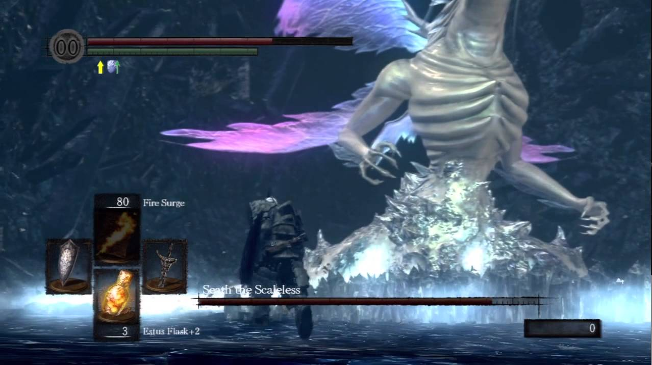 Boss Guide Dark Souls Boss Guide - Seath The Scaleless - Youtube
