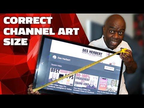 YouTube Channel Art Size 2019
