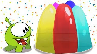THE GIANT COLORFUL JELLY | Learn Colors | Educational Cartoons for Children by Om Nom