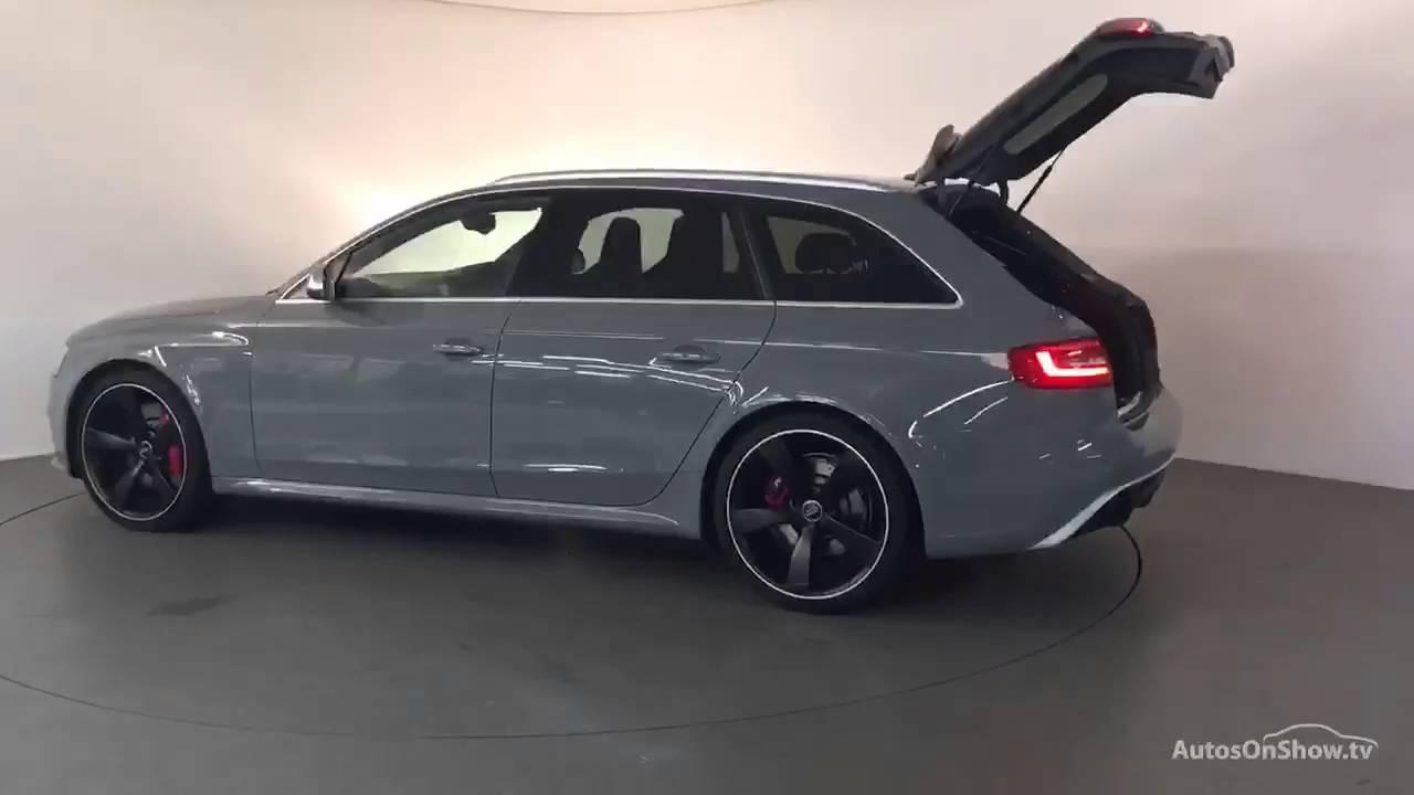 Df15wpl Audi A4 Rs4 Avant Fsi Quattro Limited Edition Grey