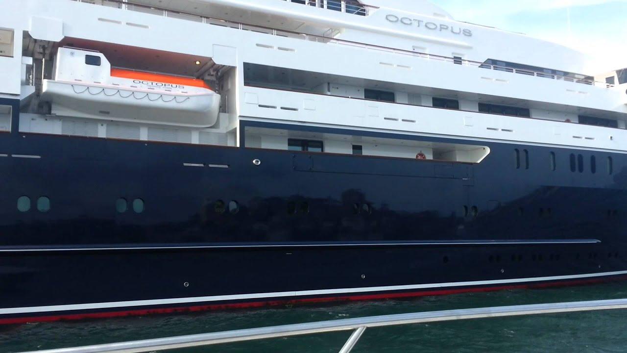 Mega Yacht Octopus Sydney Harbour 2015