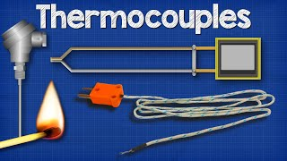 How Thermocouples Work - basic working principle + RTD