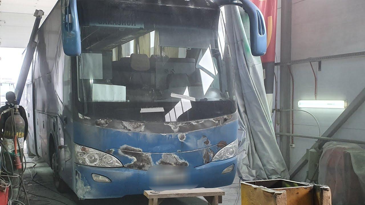 автобус Yutong вторая жизнь ( день первый) РИАНИМАЦИЯ