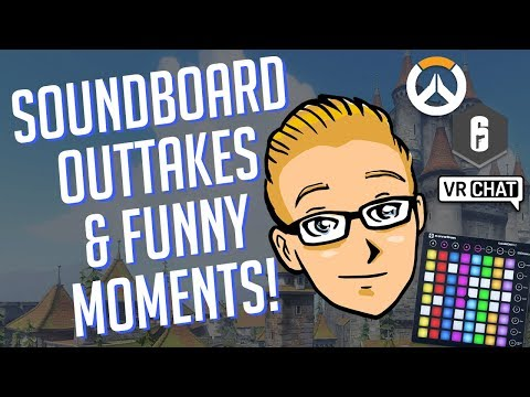 Best Overwatch Soundboard Outtakes & Other Funny Moments [40K Special]