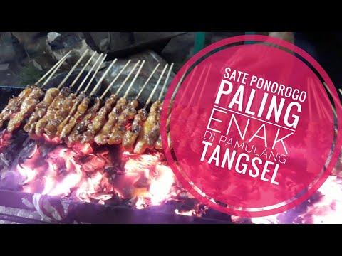 Sate Ponorogo Pamulang Tangerang Selatan, Kuliner TangSel, Food Vlog