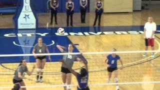 OCU Volleyball Highlights vs. Southeastern - Sept. 18, 2014