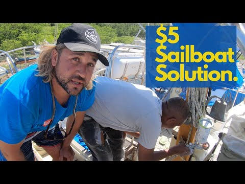 Think Smart! Save Money while refitting your sailboat! (Beach Sand for Anti-skid.)