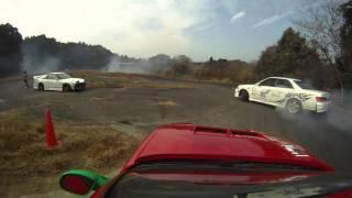 2010年12月ドリフトイベントの様子 Street Racer is like the storm! --...